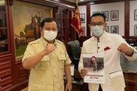 Ridwan Kamil dan Prabowo bicarakan berbagai hal