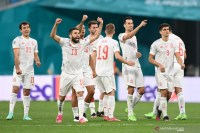 Spanyol melenggang ke semifinal Euro 2020 berkat menang adu penalti