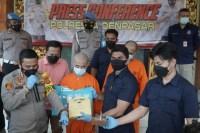 Polresta Denpasar ungkap kasus produksi ekstasi rumahan