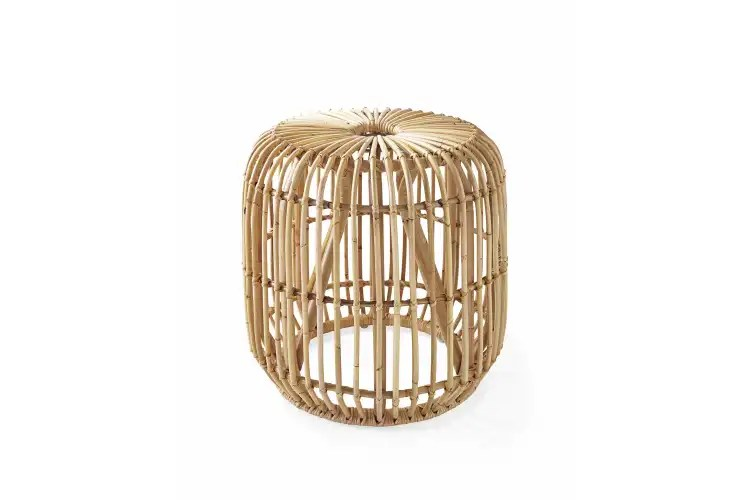 Pismo Rattan Side Table