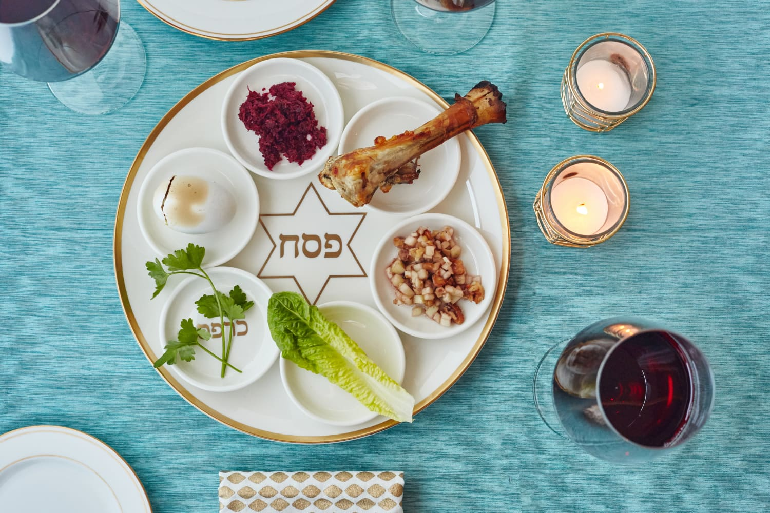 Learn About The 6 Elements Of A Traditional Seder Plate