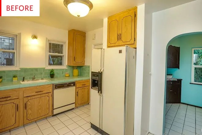 Before and After: This Modern Farmhouse Kitchen Remodel Was By No Means Cheap