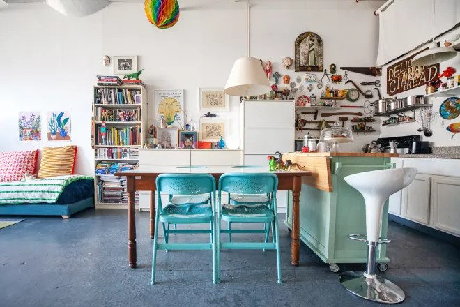 Plants Fill This Inspiring and Bright Brooklyn Live/Work Space