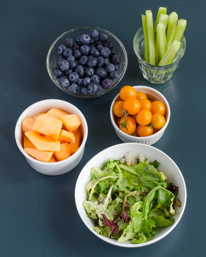 10 Pictures of Your Daily Recommended Servings of Fruits and Vegetables