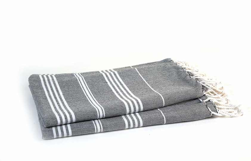 2. HABER Turkish Cotton Bath Towels (Pack of 2)