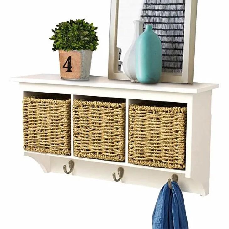 3. Hanging Cubby Shelf