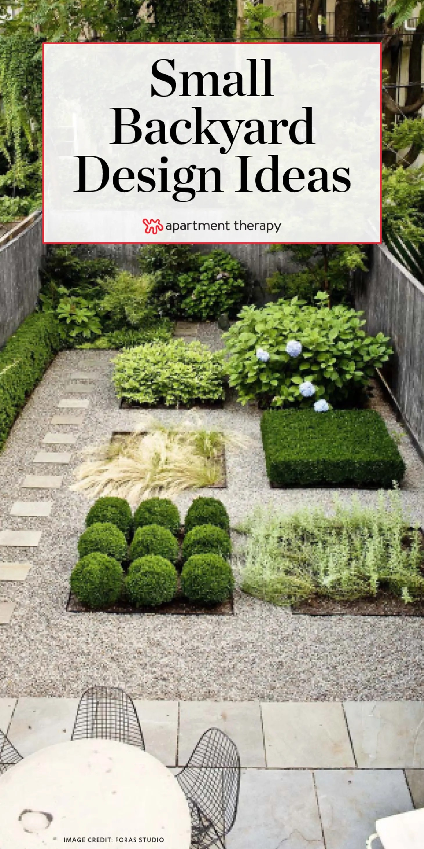 Small Backyard Design Ideas Inspiration Apartment Therapy