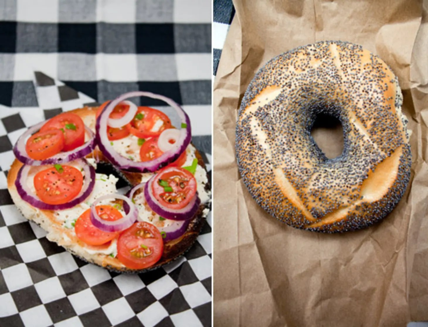 The Classic Bagel From Emily Of Cupcakes And Cashmere