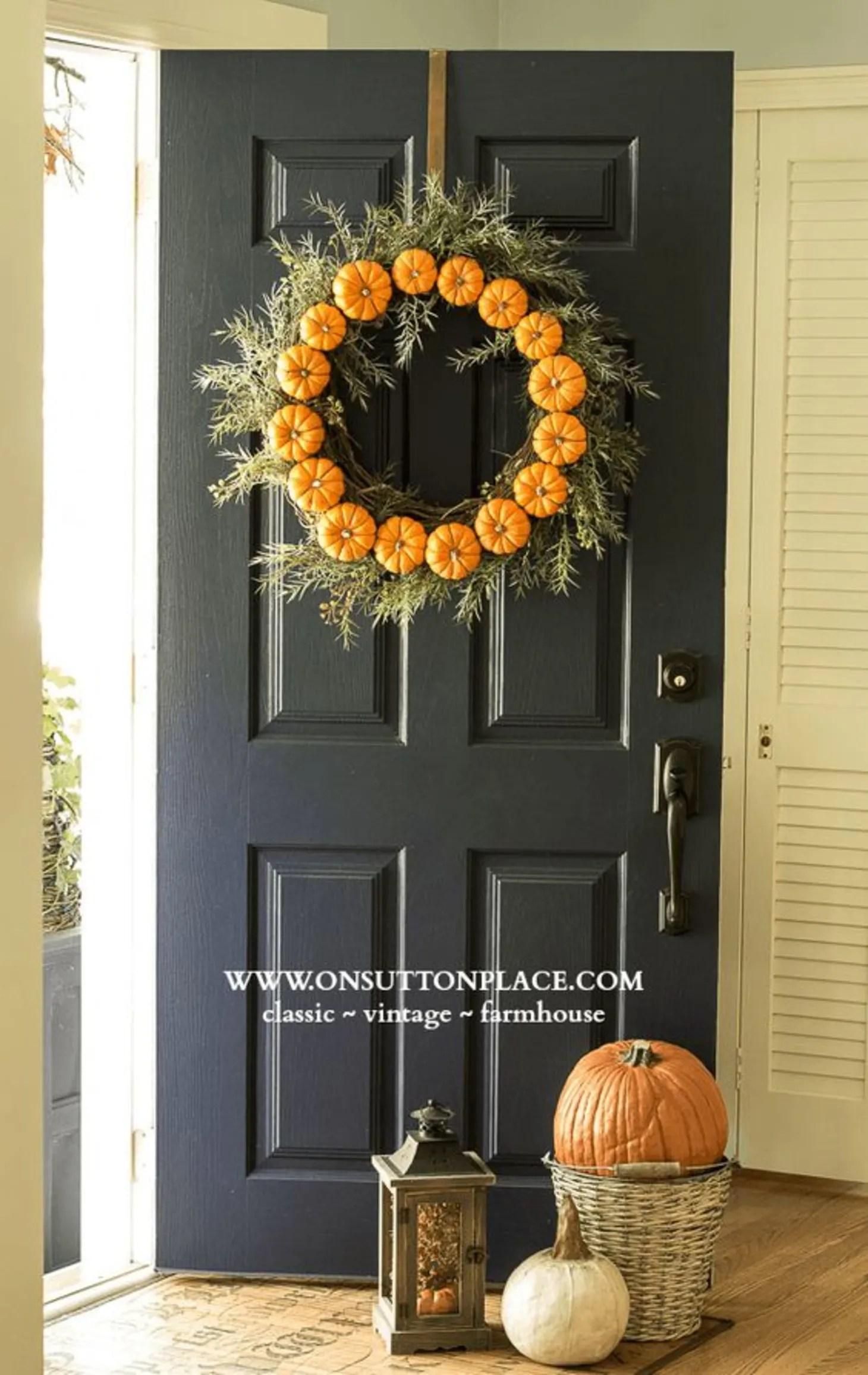 title | Fall Front Apartmenr Door Decor