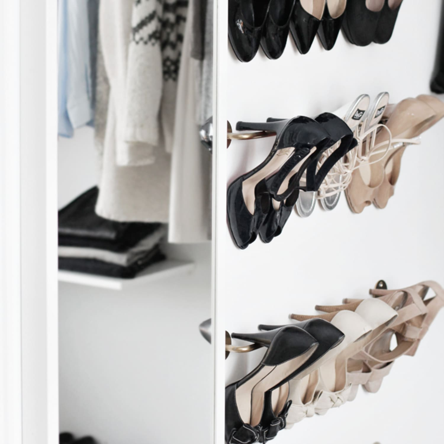 Ikea Hacks For Shoe Storage Apartment Therapy