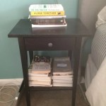 Before After Ikea Hemnes Nightstand Gets An Inventive Upgrade Apartment Therapy