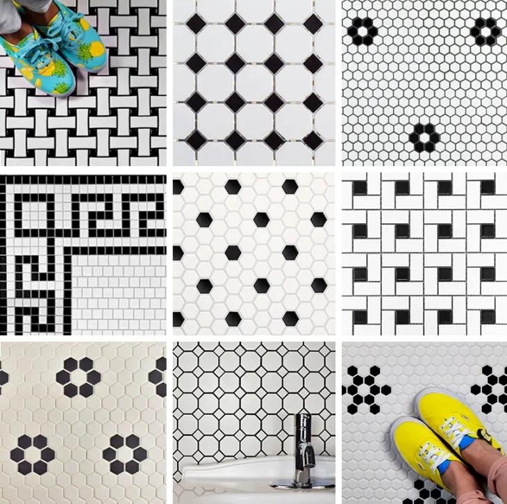 our favorite vintage mosaic floor tiles