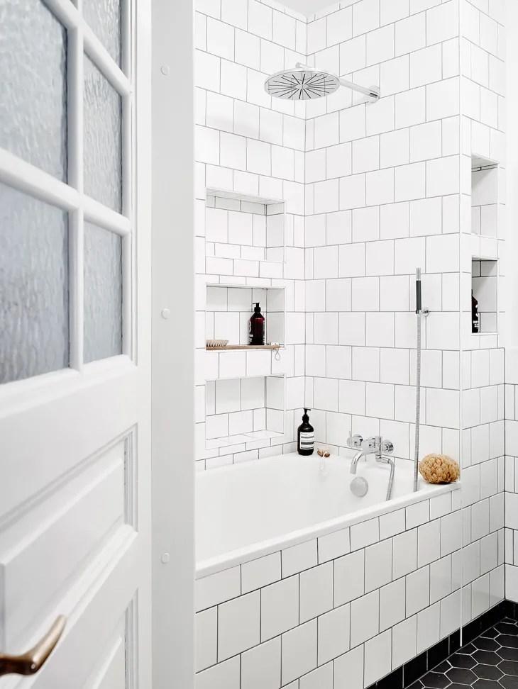 white square tiles a great alternative
