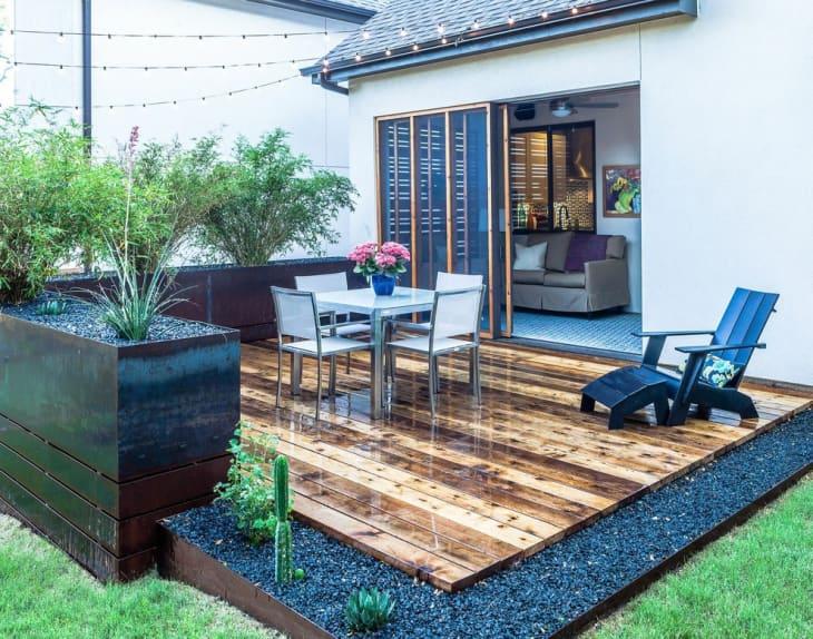 deck ideas backyard designs