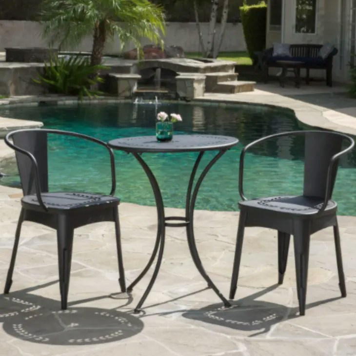 small space outdoor furniture set for