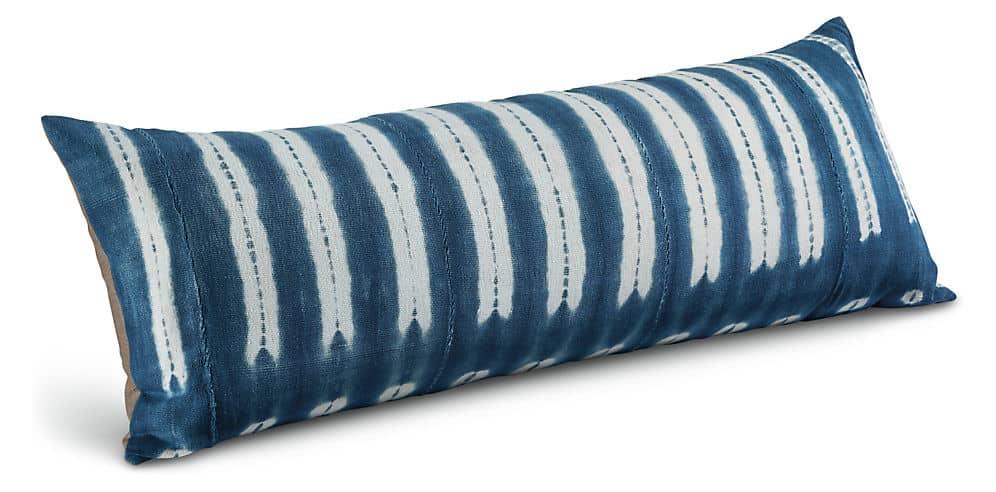 long lumbar pillows for a stylish bed