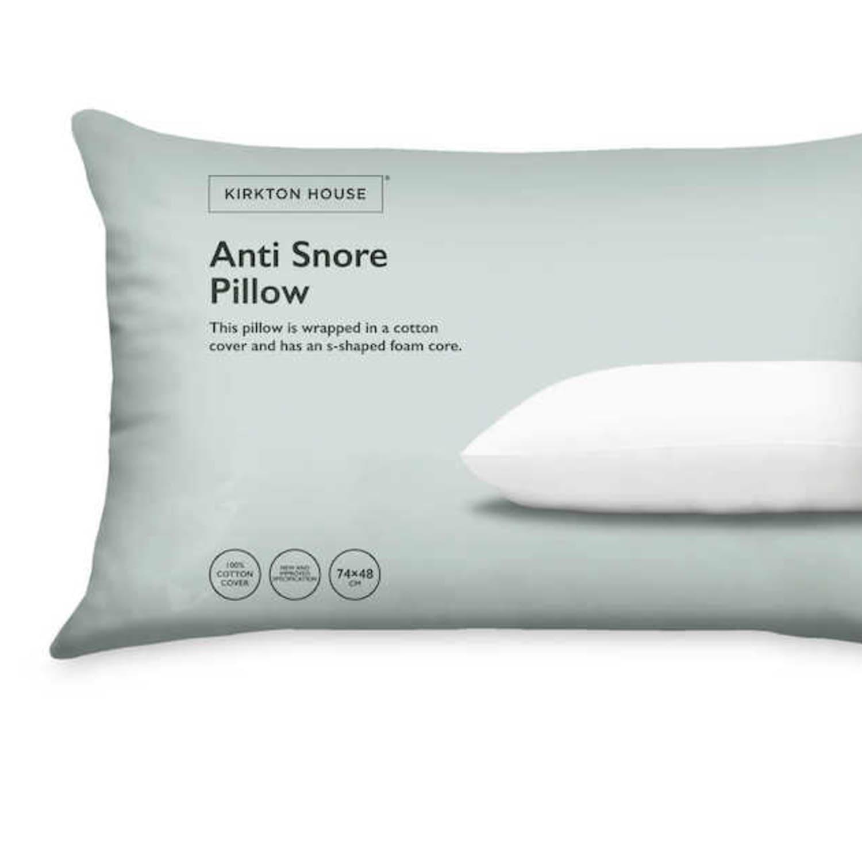 aldi uk sells an anti snoring pillow