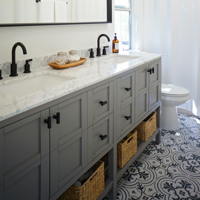 double vanity pros cons two bathroom