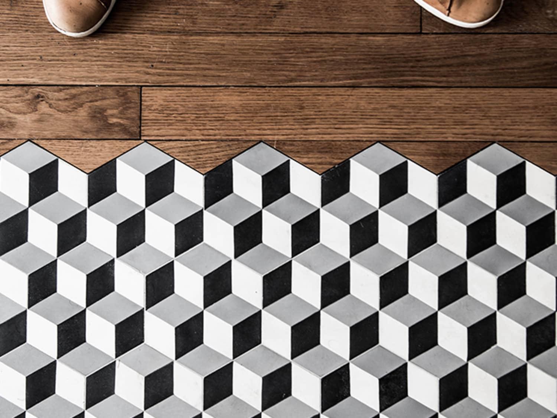 beautiful flooring transitions