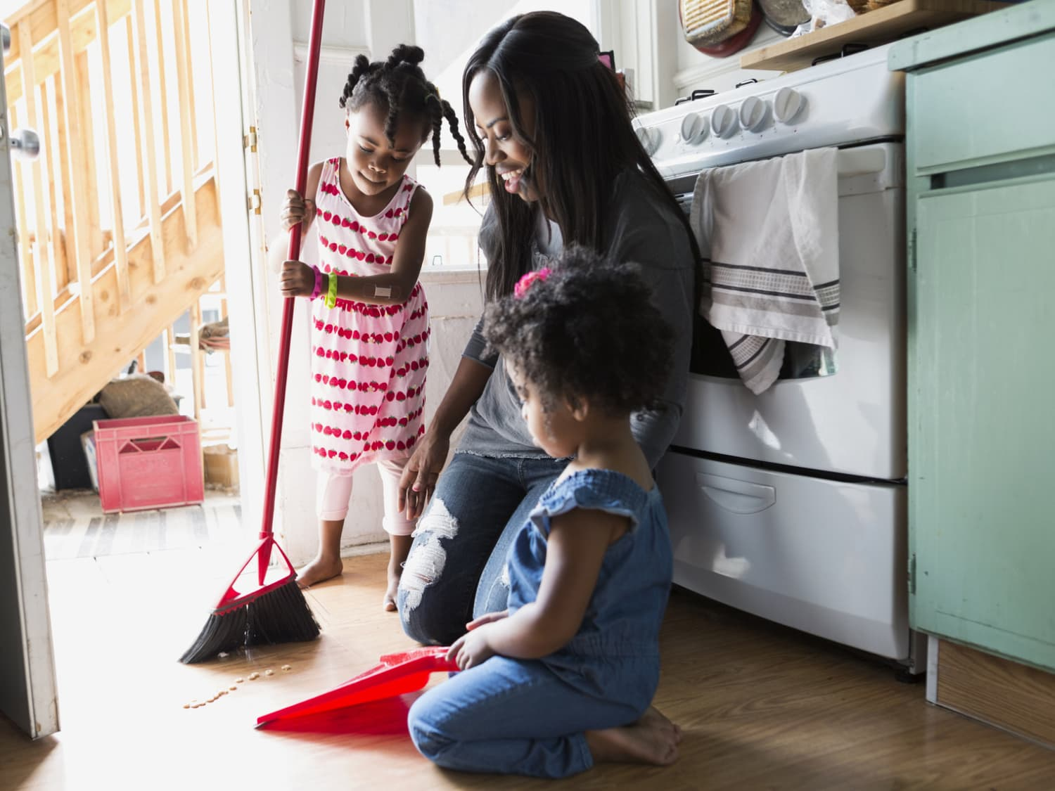 cleaning your kitchen floors