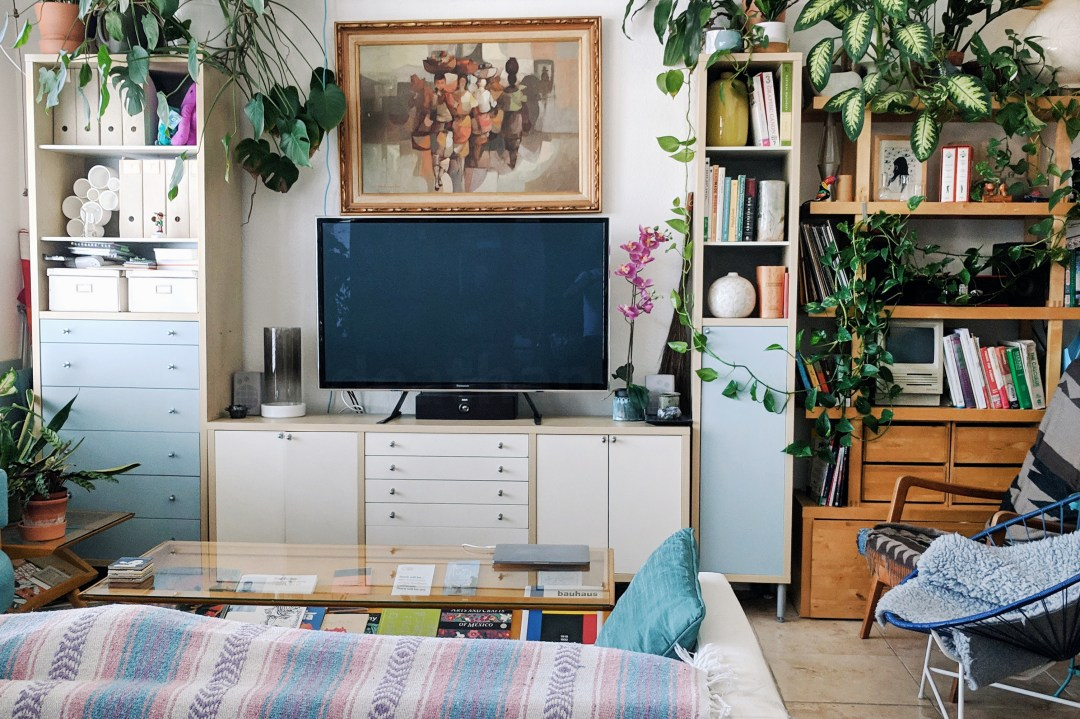 These Studio Dwellers Got Creative to Carve Out Separate Spaces