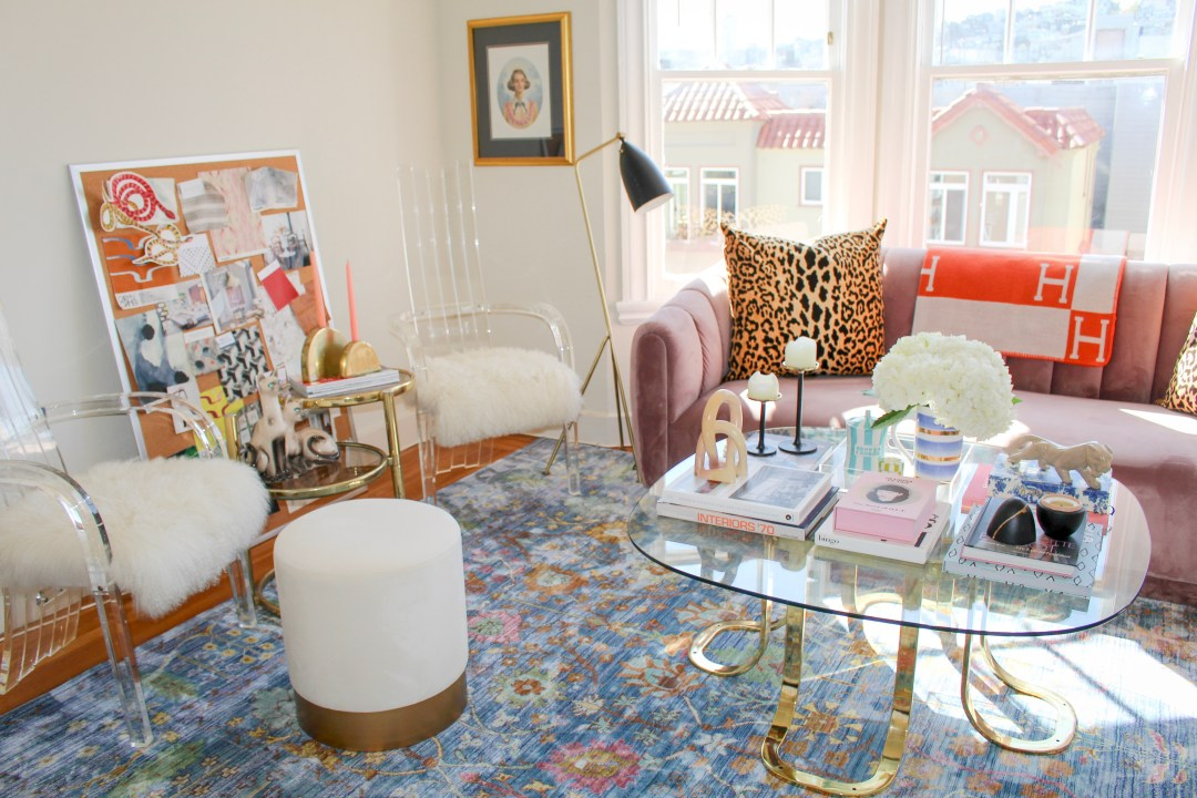 This 450-Square-Foot Apartment Is a Glam, Paris-Inspired  Bachelorette Pad