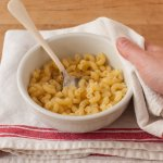 How To Make One Bowl Microwave Mac And Cheese Kitchn