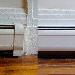 How To Paint Metal Baseboard Heater Covers Tutorial Apartment Therapy