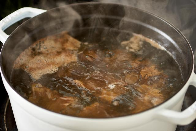 How To Make Bone Broth on the Stove or in the Slow Cooker