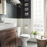 Look We Absolutely Love Dark Colors For The Bathroom Apartment Therapy