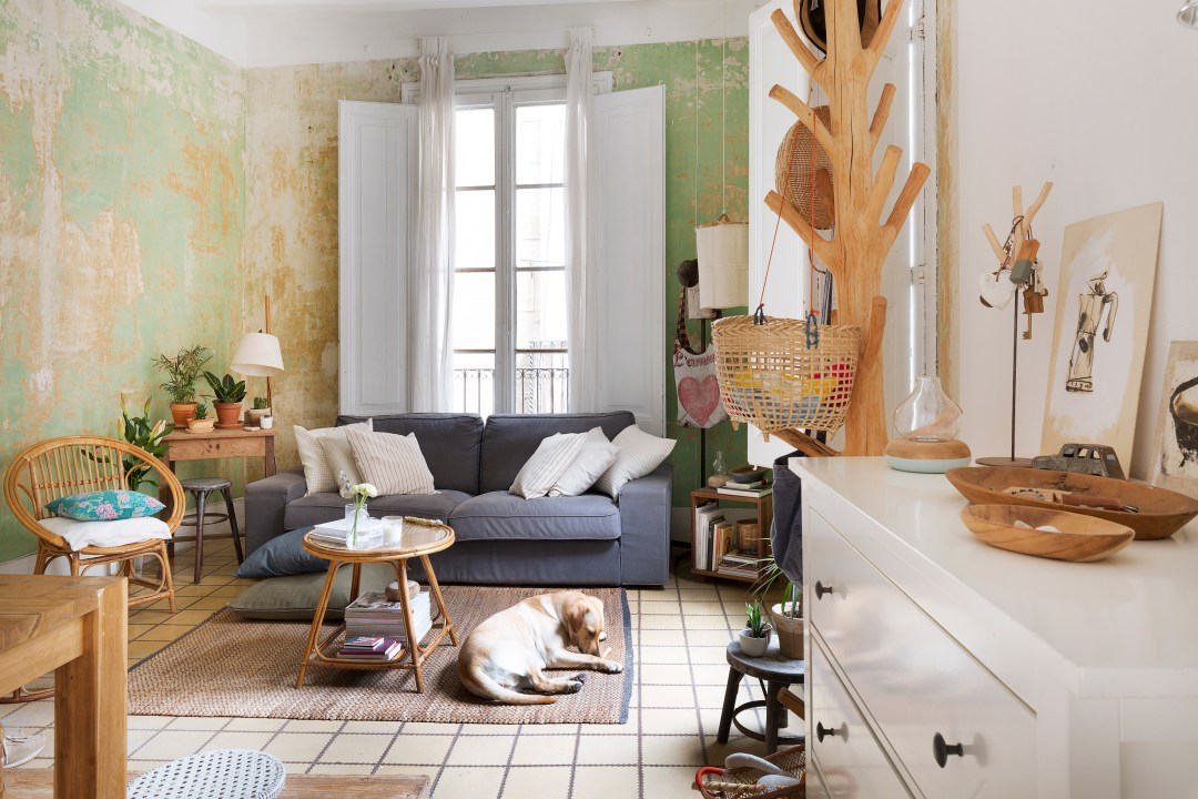 This Barcelona Apartment Is Perfectly Imperfect