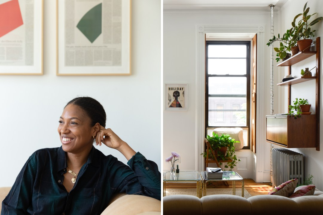 A 400-Square-Foot Studio Feels Spacious and Serene, Despite the Small Size