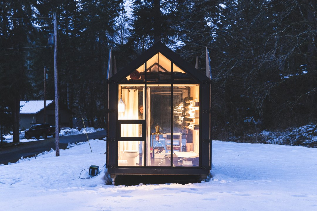 This 106 Square Foot Prefab Cabin Is the Only Way We Want to Camp