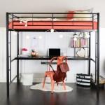 Queen Loft Bed With Desk