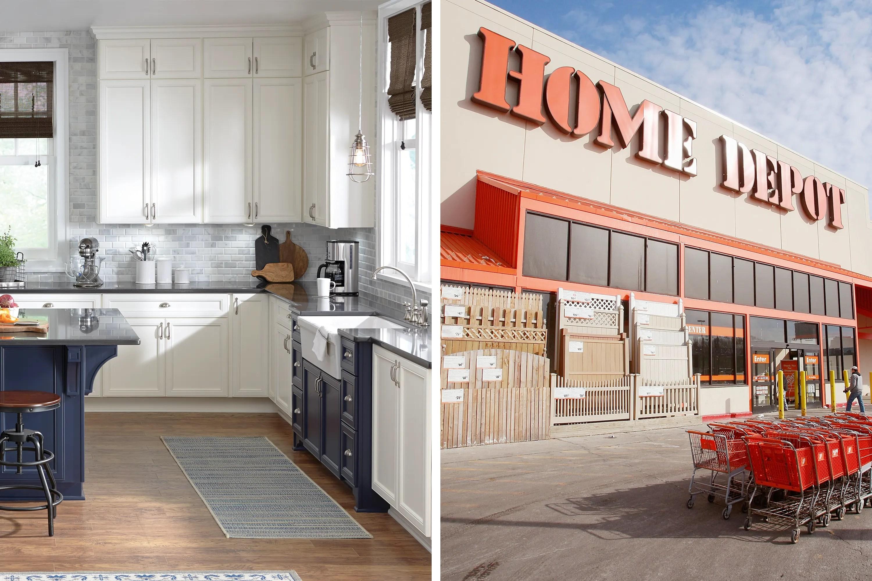 home depot kitchen cabinets explainer