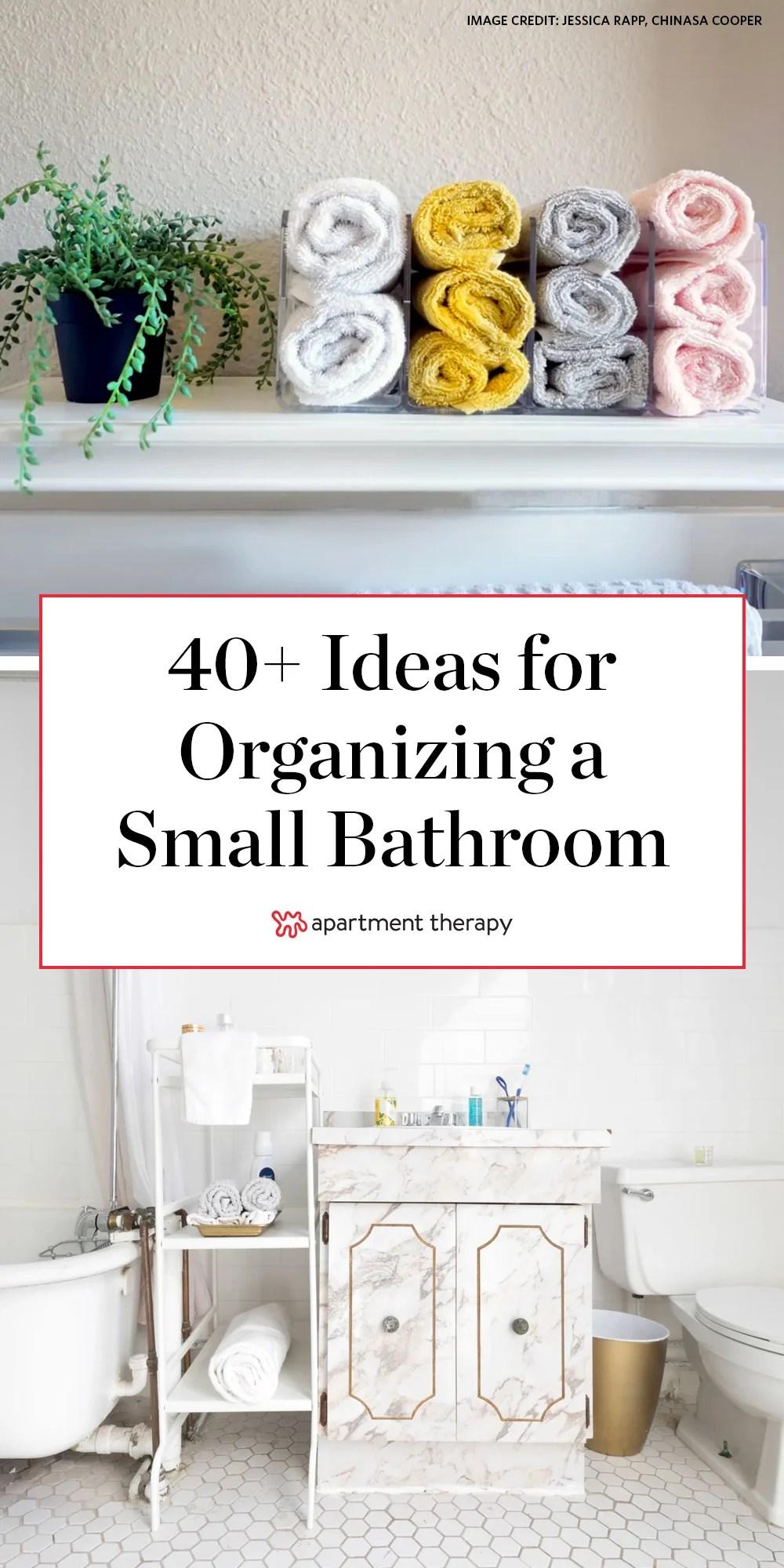 41 bathroom organization ideas for