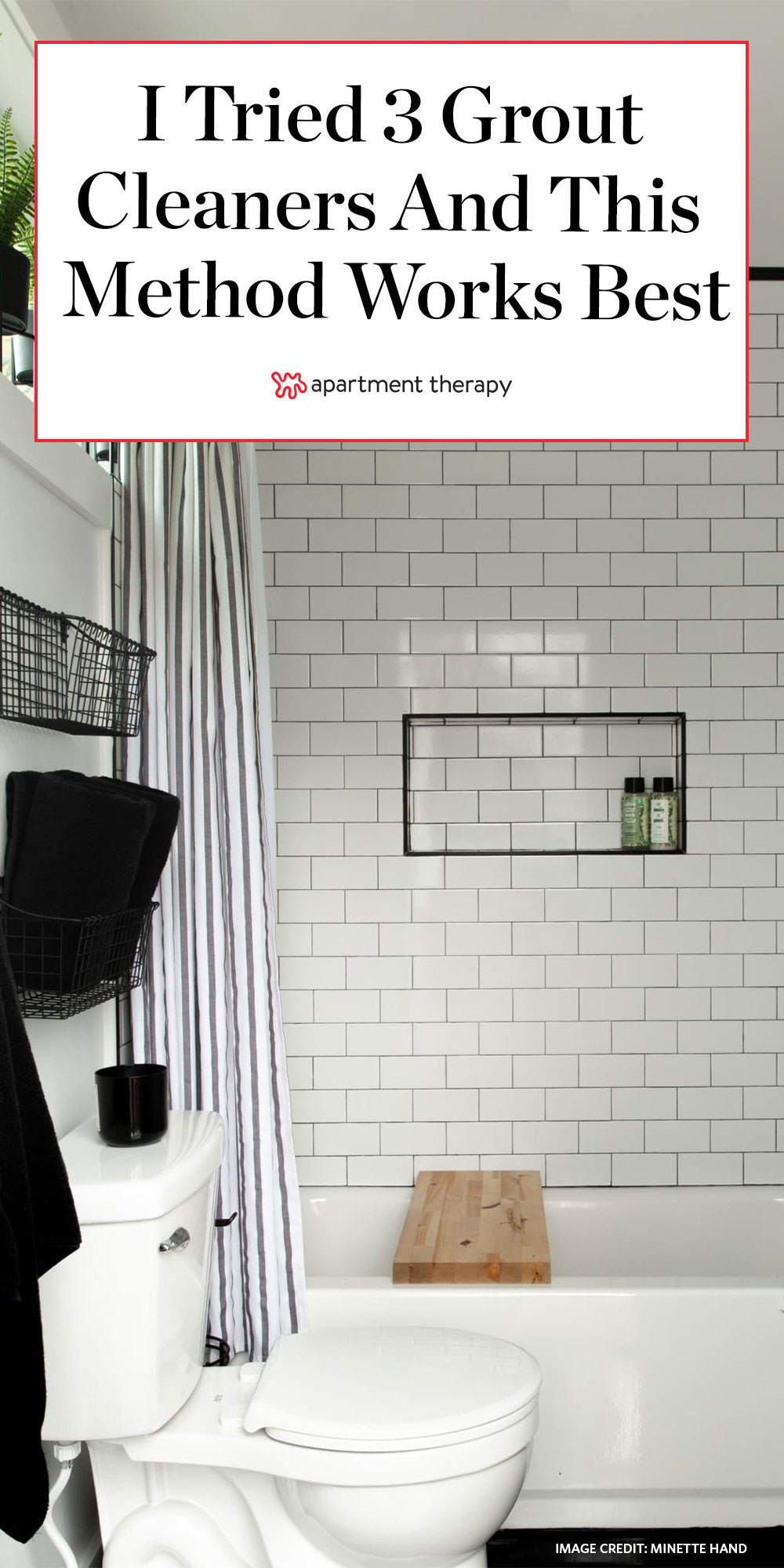 i tried 3 diy grout cleaners and one