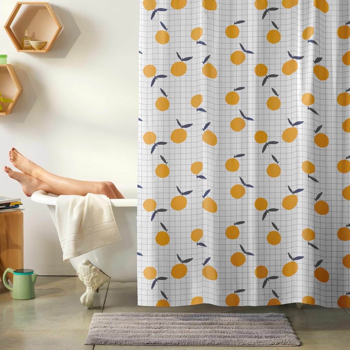 shower curtain will make your bathroom