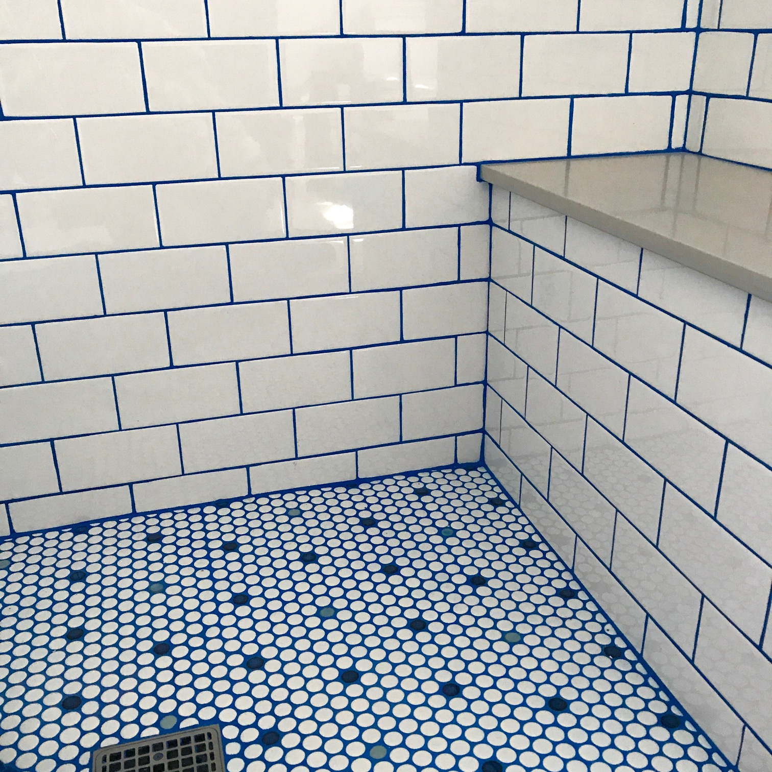 how colored grout can make your