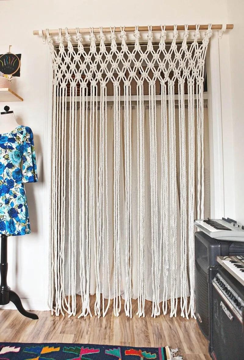 18 diy curtain ideas easy ways to