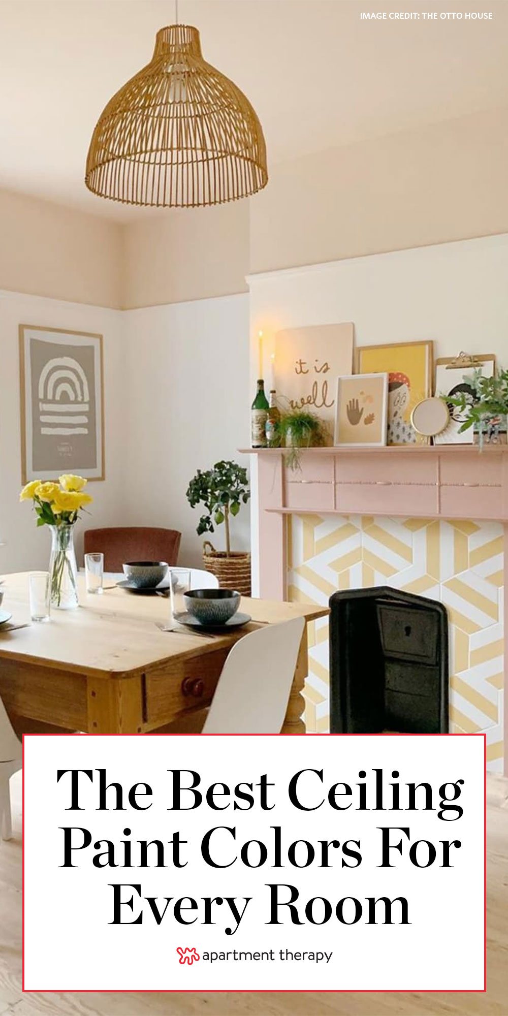 Best Ceiling Paint Colors According To A Designer Apartment Therapy