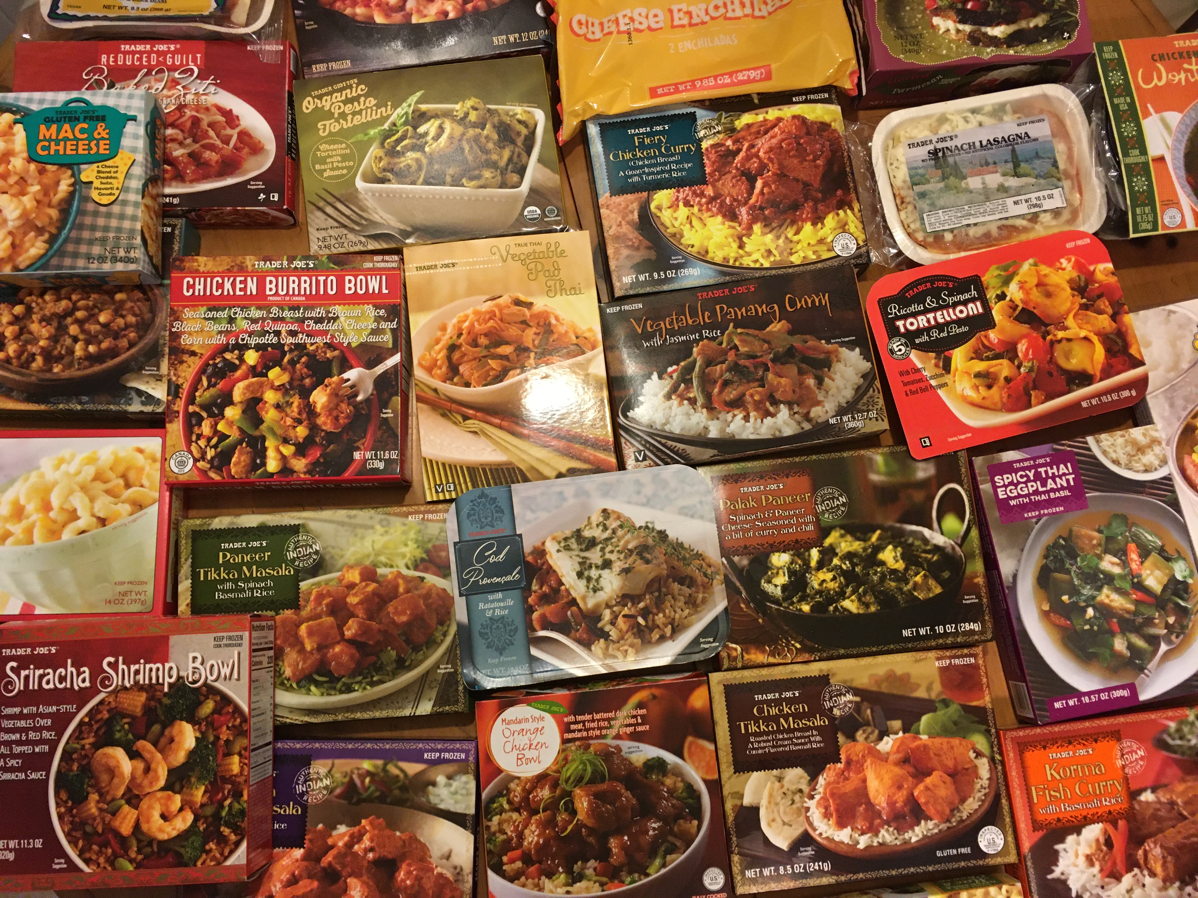 the best frozen dinners at trader joe s