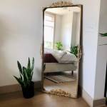 How To Turn A 50 Ikea Mirror Into An Anthropologie Look Alike Apartment Therapy