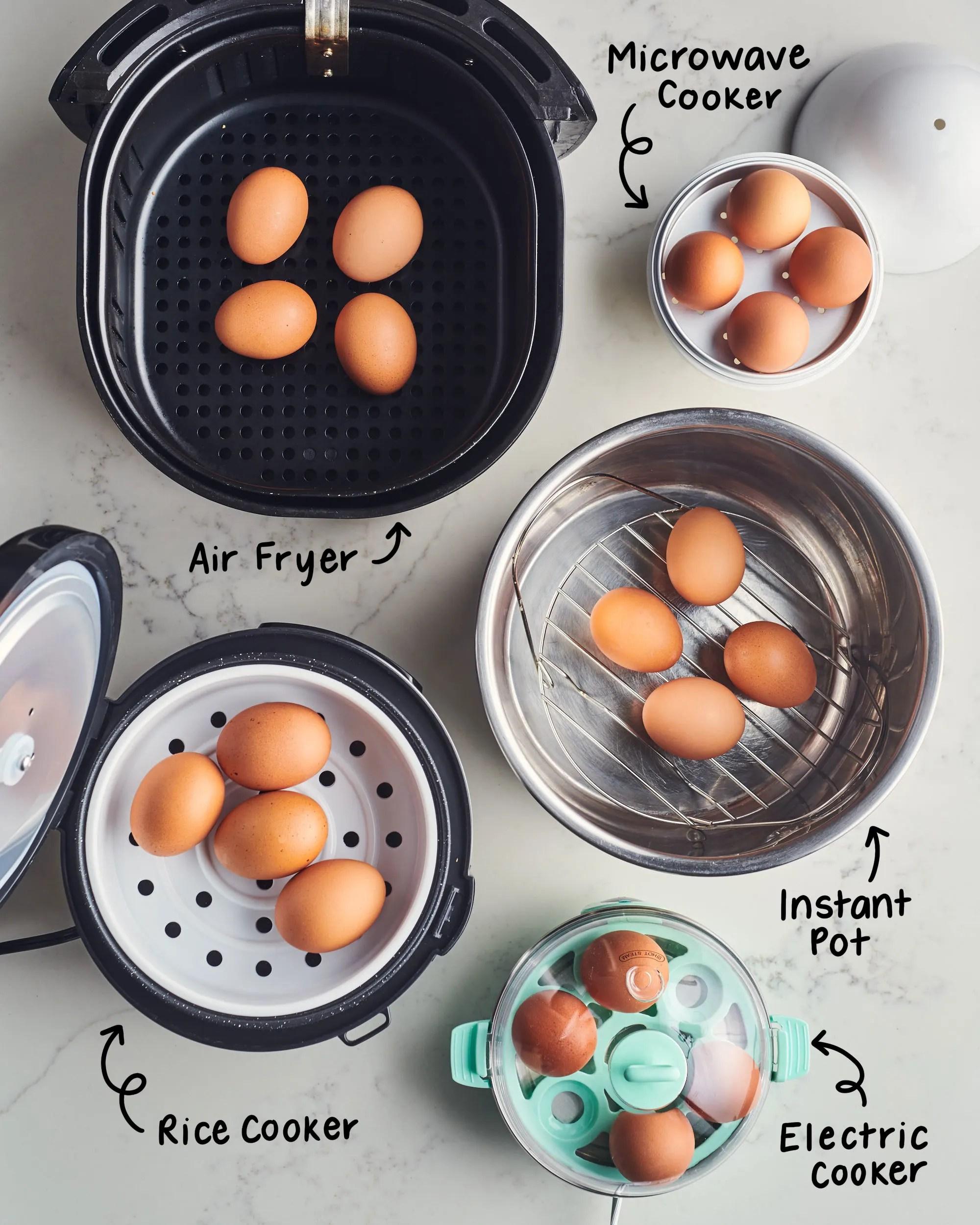 best gadget for making hard boiled eggs