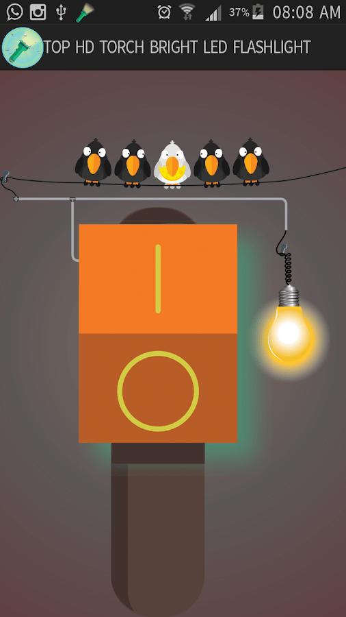 Hd Torch Bright Led Flashlight  Screenshot