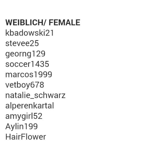 Kik Usernames 2