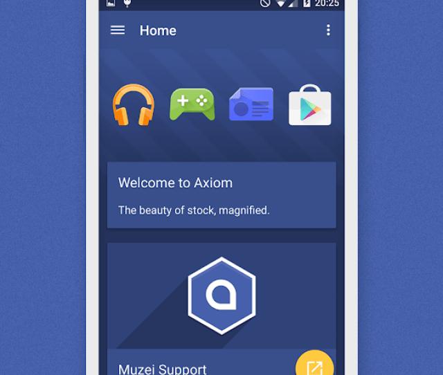 Axiom Icon Pack  Screenshot