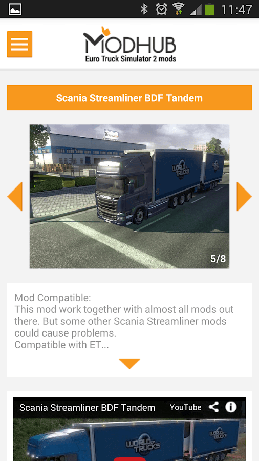 euro truck simulator 2 apk in android highly compressed
