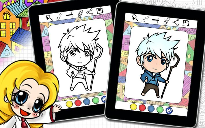 Anime Chibi Coloring Book 15 Apk Download