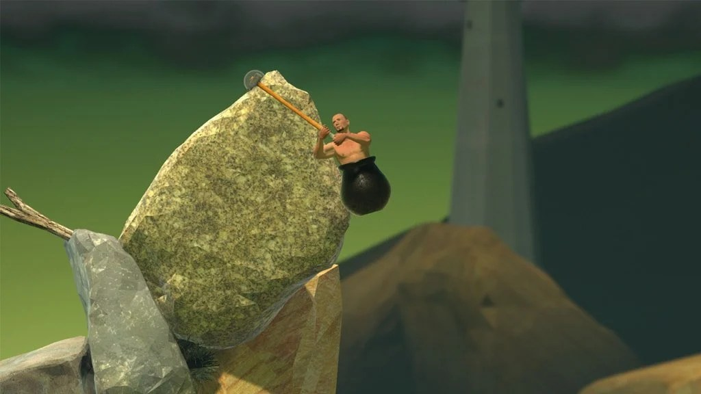 Getting Over It 2 ​​min